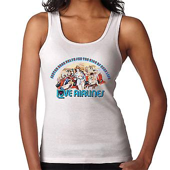 Love Airlines Ride Of Your Life Orgy Women's Vest
