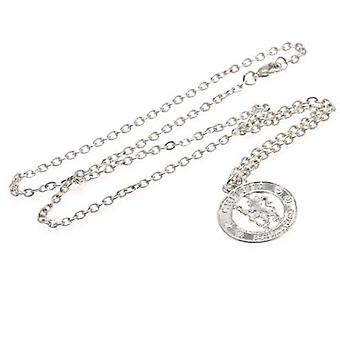 Chelsea Silver Plated Pendant & Chain CR