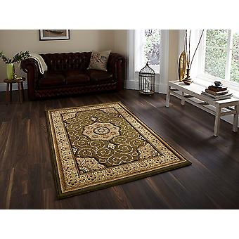 Heritage 4400 Green s Circle Rugs Traditional Rugs