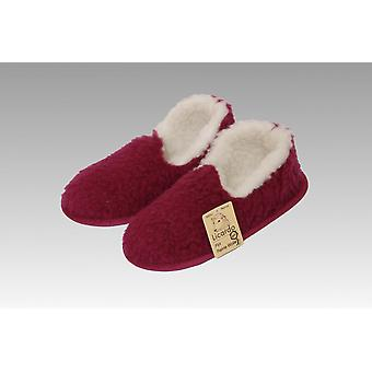 Moccasin wool bordeaux 36/37