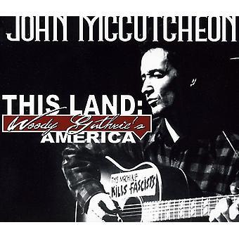 John McCutcheona - ten kraj: Woody Guthrie Ameryki [CD] USA import