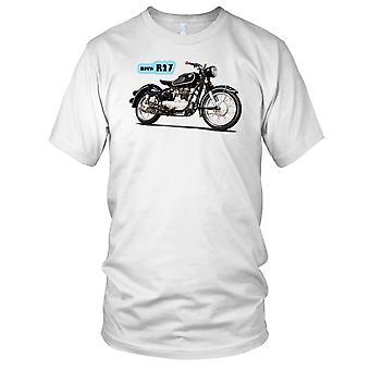 BMW R27 Classic Motorbike Biker Mens T Shirt