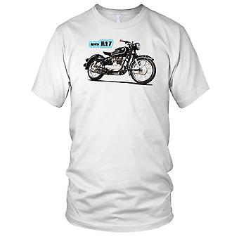 BMW R27 klassieke motorfiets Biker Mens T Shirt