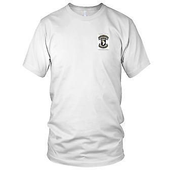 Los E.E.U.U. ejército - 101a división aerotransportada bordadas del remiendo - Screaming Eagles Assocition Mens T Shirt