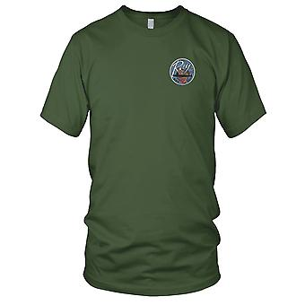 US Navy SSN-653 USS Ray Embroidered Patch - Mens T Shirt