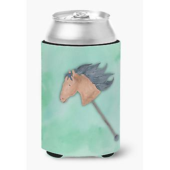 Carolines Treasures  BB7366CC Stick Horse Watercolor Can or Bottle Hugger