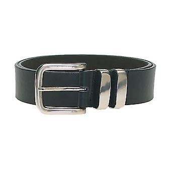 D555 Noah Double Metal Loop Fashion Belt