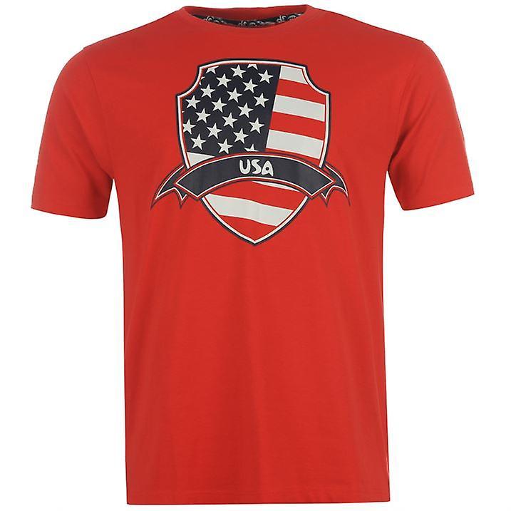 USA 2014 FIFA Flag Tee (Red)