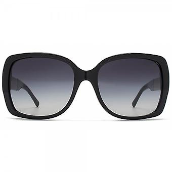 Burberry Oversize Square Sunglasses In Black