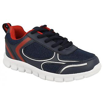 Infant Boys Running Sports Athletics Lace Up Casual Mesh Trainers Shoe Size 10-2--