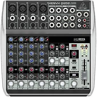 Mixing console Behringer XENYX Q1202USB No. of channels:12 USB p