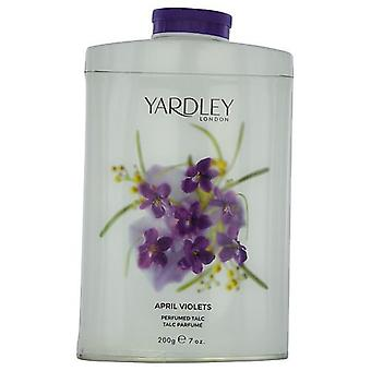 Yardley By Yardley April Violets Tin Talc 7 Oz (New Packaging)
