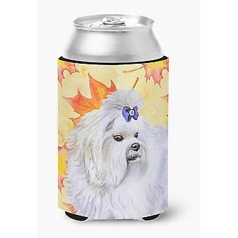 Carolines Treasures  BB9912CC Maltese Fall Can or Bottle Hugger