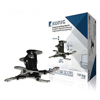 König Projector ceiling mount Ceiling Fully adjustable 10 kg