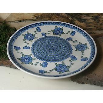 Lunch plaat ø 25,5 cm, traditie 9obr - polska aardewerk - BSN 15085