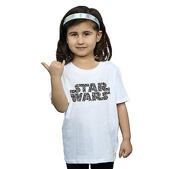 Star Wars Girls Paisley Logo T-Shirt