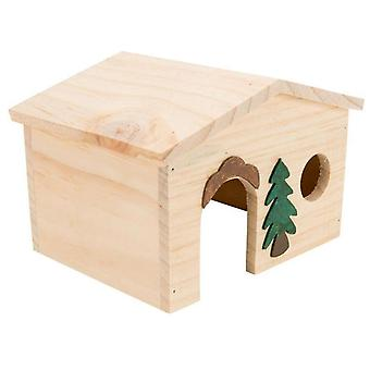 Tyrol Wooden Chalet Guinea Pig (Small pets , Cage Accessories , Maisonnettes et Tunnels)