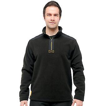 Regatta Mens Hardwear Intercell Half Zip Fleece Jacket Black