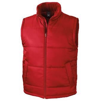 Result Core Unisex Mens & Womens Softshell Quilted Gilet Bodywarmer Jacket