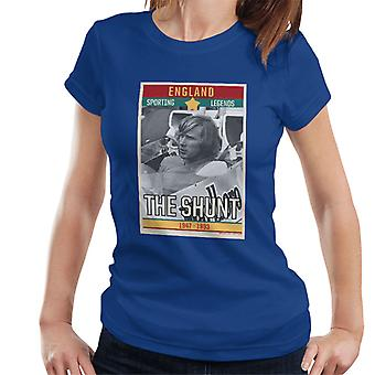Sporting Legends Poster England James Hunt The Shunt 1947 To 1993 Women's T-Shirt