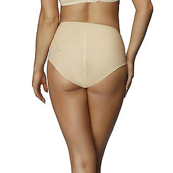 Nessa P2 Women's Paris Beige Solid Colour Knickers Panty Full Brief