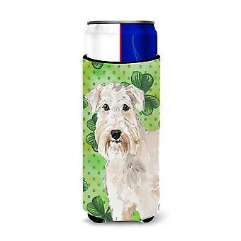 Shamrocks Wheaten Terrier Michelob Ultra Hugger for slim cans