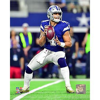DAK Prescott 2017 Action Photo Print