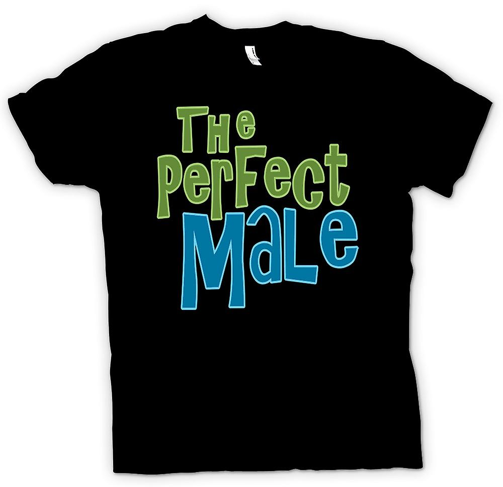 Mens T-shirt - The Perfect Male - Funny