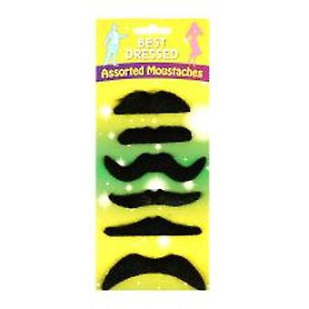 Assorted Moustache Card