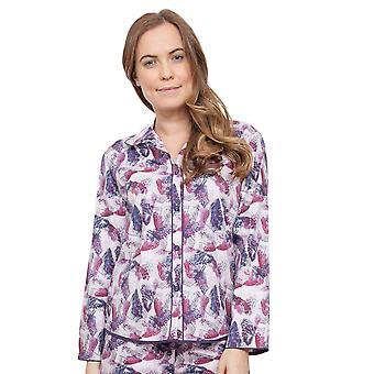 Cyberjammies 3867 Women's Cassie Pink Floral Pajama Pyjama Top
