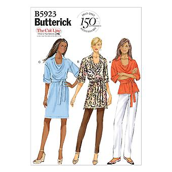 Misses' Top, Tunic, Dress and Belt-XS-S-M -*SEWING PATTERN*