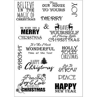Debbi Moore Life Quotes A5 Stamp Sheet-Inspiration 8