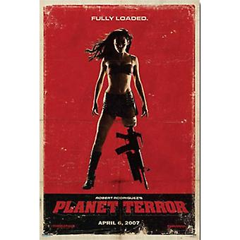 Grindhouse - Planet Terror Poster Print