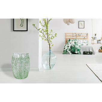 METAL STOOL DESIGN white STOOL green MODERN decorative STOOL