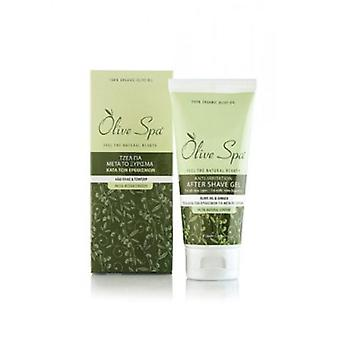 Aftershave gel, with olive oil and aloe vera 100ml.