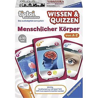 Ravensburger tiptoi ® knowledge & Quizzen: Human Body
