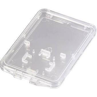 Hama 95947 Memory card sleeve microSD card, SD card Transparent