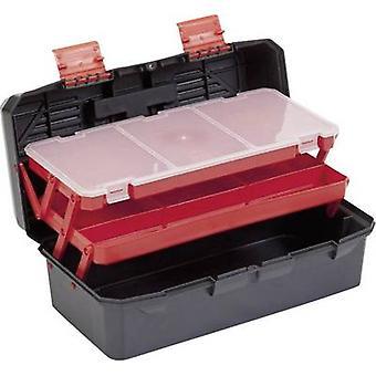 Tool box (empty) Alutec 56300 Plastic Black, Orange