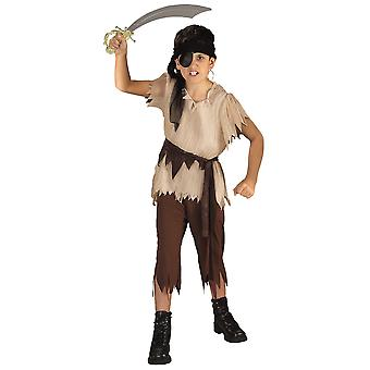 Costume Pirate Boy capitaine fardée Treasure Hunter livre semaine garçons