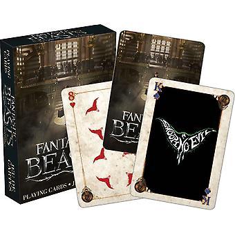 Phantastische Tierwesen Satz von 52 Spielkarten (+ Joker) (52330)