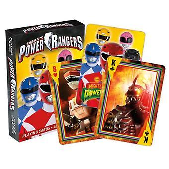 Power Rangers juego de 52 naipes (+ comodines)
