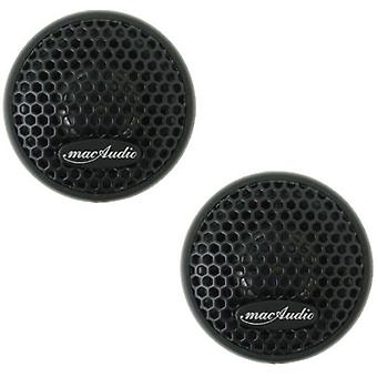 1 paar mac audio Mac ijzer tweeter, 100 watt voor max. 20 mm tweeter, SERVICE merchandise/Virgin