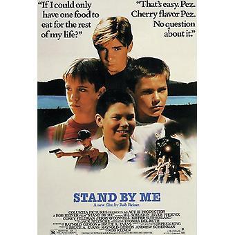 Soporte por mi cartel te Wheaton, River Phoenix, Corey Feldman, Jerry o ' Connell
