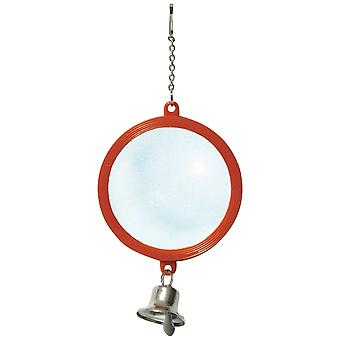 Ica Double Round Mirror with Hood (Birds , Toys)