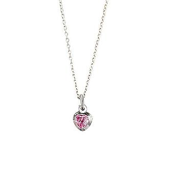 Scout children necklace chain silver plated pink girl 261091200