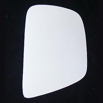 Right Stick-On Mirror Glass for Nissan NV200 van 2010-2017