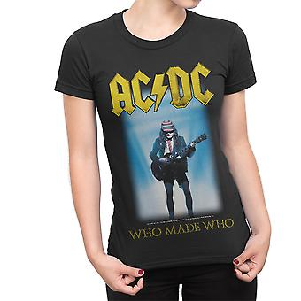 Ac/Dc Who Made Who Fitted T-Shirt
