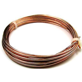 1 x tubulure Anti ternissure cuivre 0,8 mm x 6 m ronde Craft fil bobine W1080