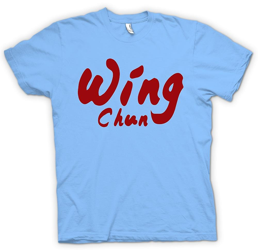 Hommes T-shirt - Wing Chun - Martial Art - Slogan