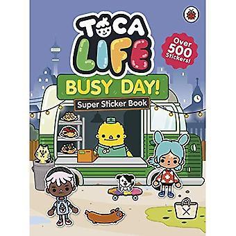 Vie de Toca: Journée bien remplie!: Super Sticker Book